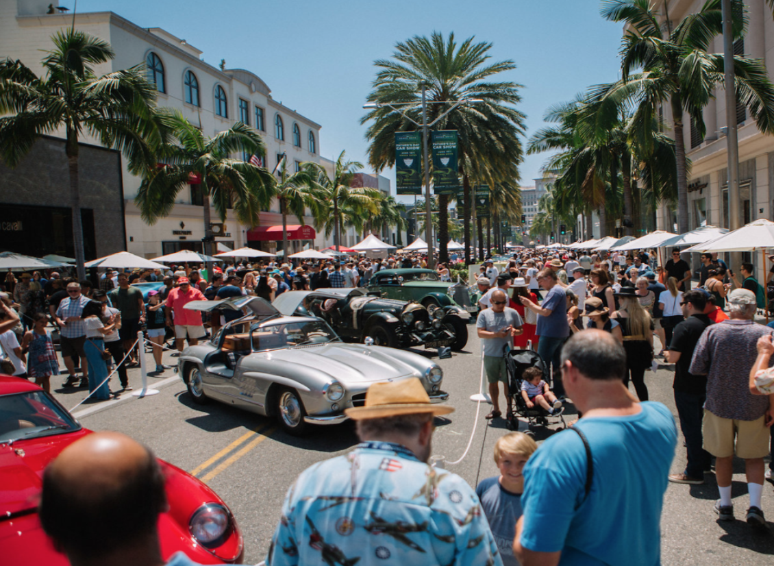 Rodeo Drive Concours 2018