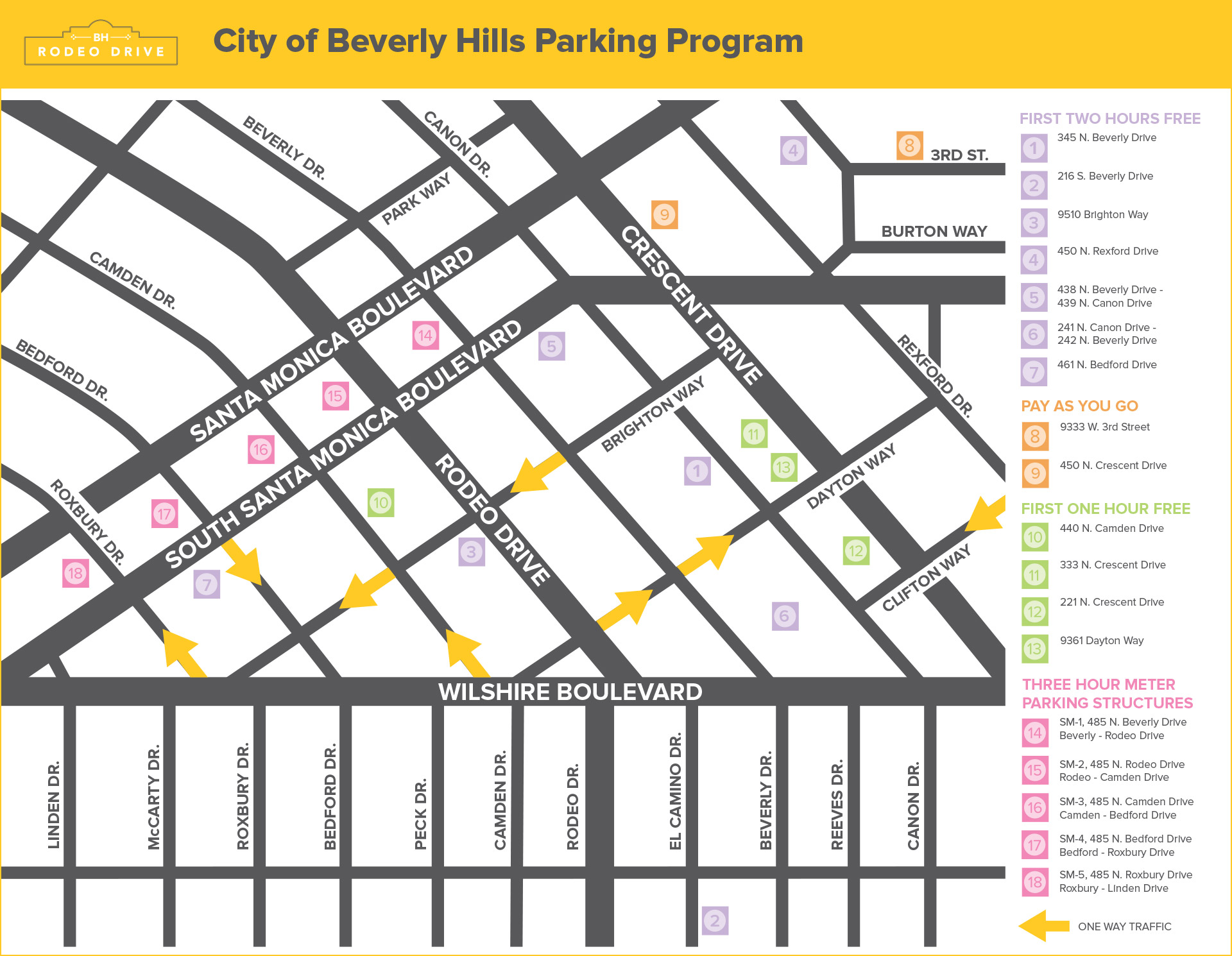 Rodeo Drive Map Parking – rodeodrive bh.com