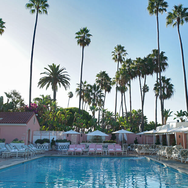 Beverly Hills Hotel Pool