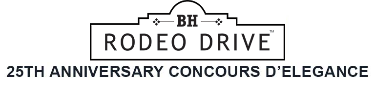 25th Anniversary Rodeo Drive Concours d'Elegance 2018